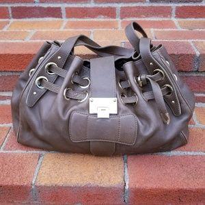 Jimmy Choo Ramona in Taupe Leather